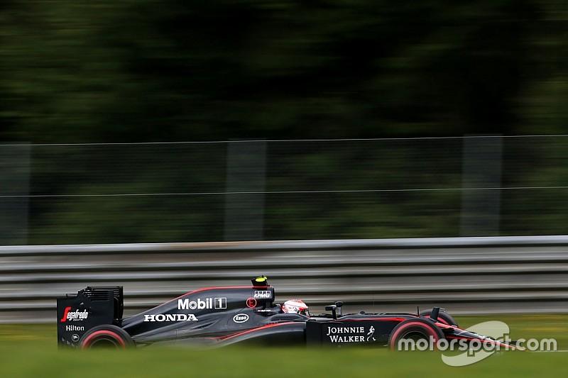 Grilla de largada provisoria para el GP de Austria