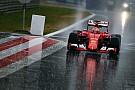 Com chuva forte, teste na Áustria não tem ação pela manhã