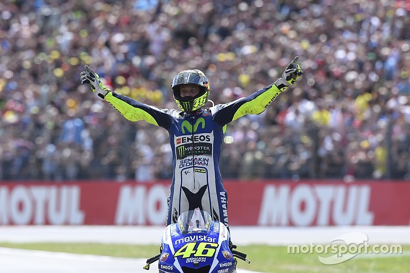 Photos - La victoire de Rossi à Assen en images