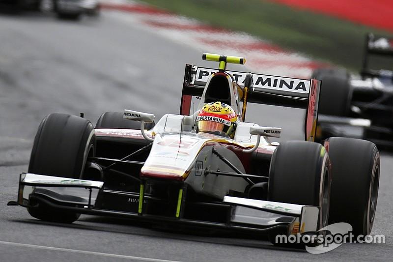 Silverstone GP2: Haryanto narrowly heads Lynn in practice