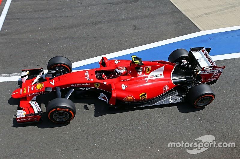 Räikkönen se enfoca en el rendimiento de los neumáticos