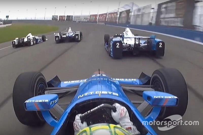 On Board - Les meilleurs moments de l'IndyCar à Fontana