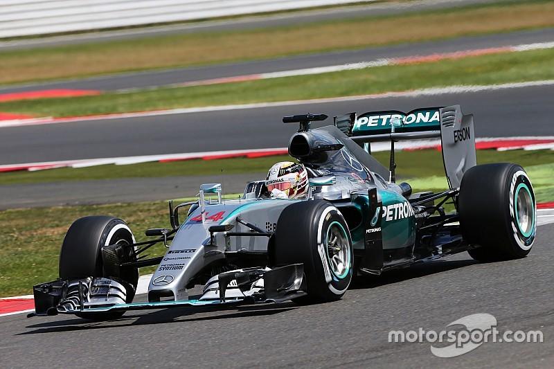 Hamilton vuelve a separarse en el Campeonato