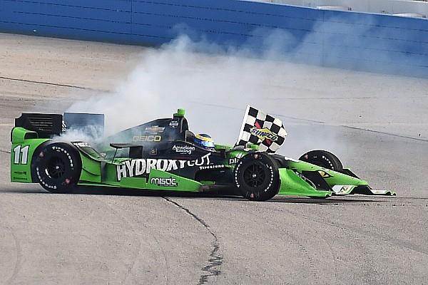 IndyCar Bourdais' surprise oval victory