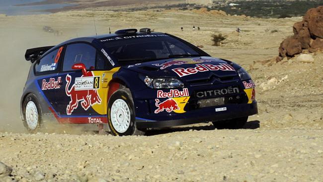 Raikkonen e Ogier al Rally della Lanterna!