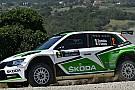 Debutto amaro per la Fabia R5 nel Rally San Marino