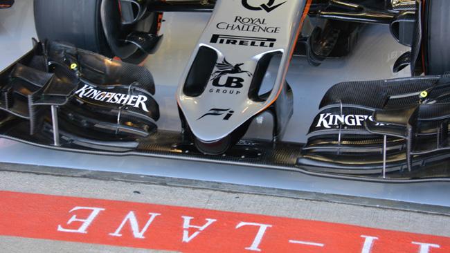 Force India: piace il muso con le narici