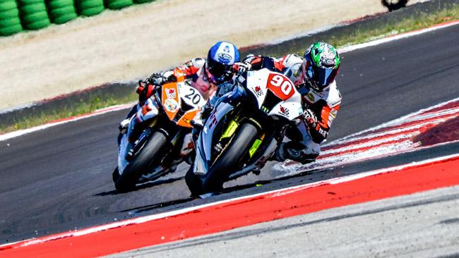 Tanti piloti e gare avvincenti nel terzo round di Misano