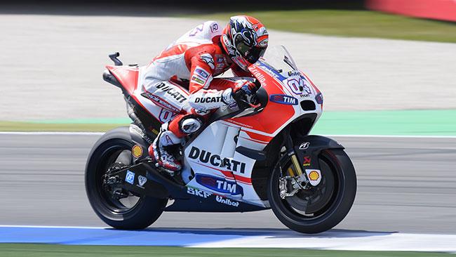 La Ducati perde le concessioni già dal 2016