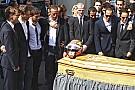 Le monde de la F1 réuni à Nice pour dire adieu à Jules Bianchi