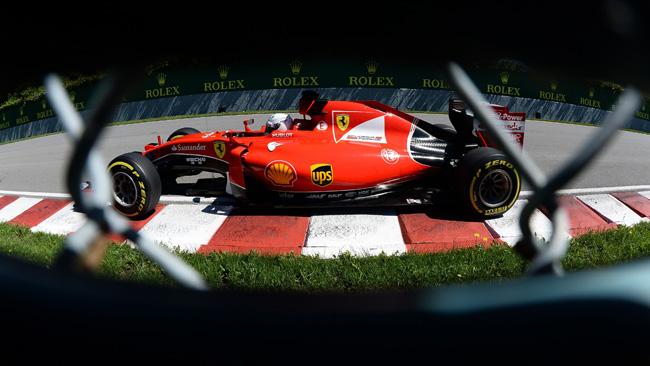 Vettel penalizzato di cinque posizioni in griglia