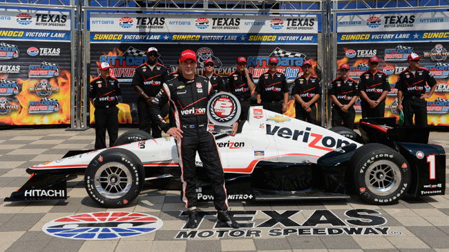 Will Power in pole in Texas nel dominio della Penske