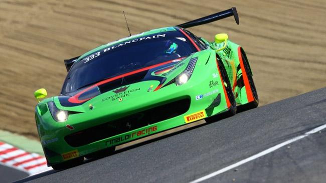 La Ferrari della Rinaldi Racing risponde presente