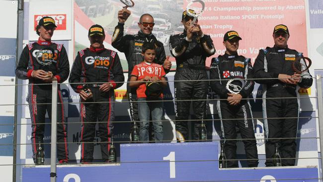 GT Cup, Vallelunga, Gara 1: svetta Lamborghini
