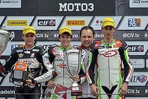CIV Moto3 Ultime notizie Bezzecchi vince su Di Giannantonio e Spiranelli