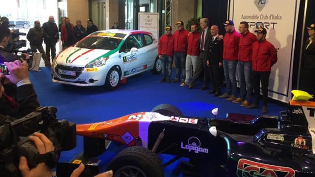 Presentata a Roma la squadra dell'ACI Team Italia
