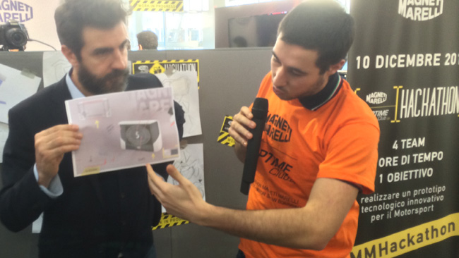 Hackathon Marelli: l'idea sta diventando realtà