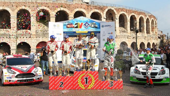 Il Rally Roma Capitale tra le gare valide per il CIR 2015