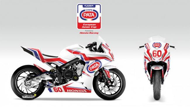 La European Junior Cup passa alla Honda CBR650F