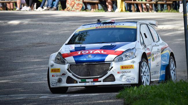 Paolo Andreucci domina il Rally del Friuli