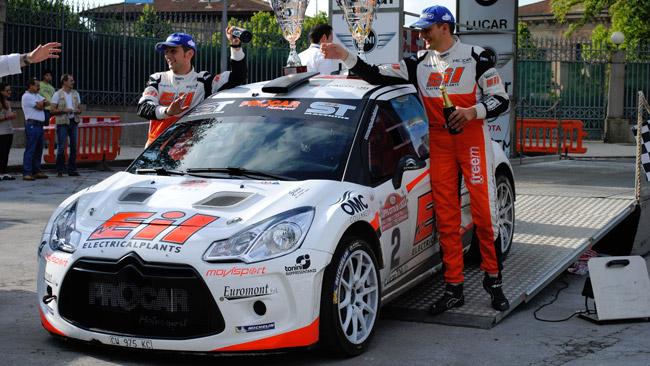 Michelini ancora re al Rally Coppa Città di Lucca