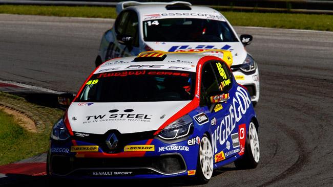 La Clio Cup arriva a Monza con due leader alla pari