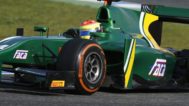 La Caterham Racing ingaggia Sergio Canamasas