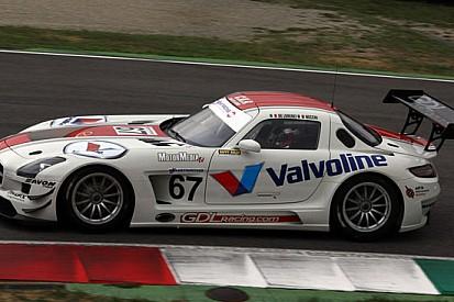 La GDL Racing a Monza con la Mercedes SLS GT3