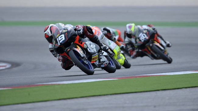 Tonucci in pole position a Misano