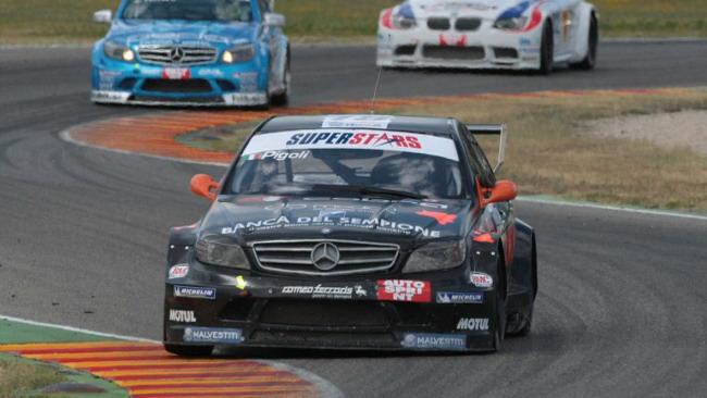 Seconda gara targata Mercedes: Pigoli davanti a Ferrara