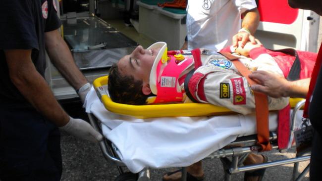 Marciello è stato portato al centro medico di Imola