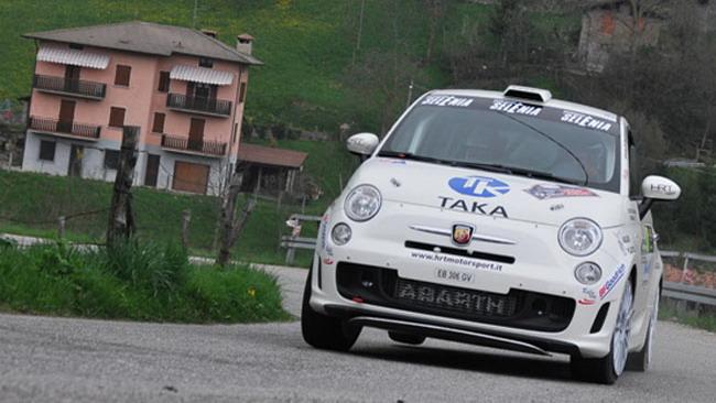 Sette Abarth 500 Rally alla Marca