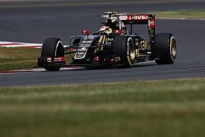 F1 Noticias de última hora Lotus pudo girar después de esperar por sus neumáticos