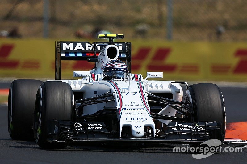 Bottas qualified sixth and Massas eighth for tomorrow's Hungarian Grand Prix
