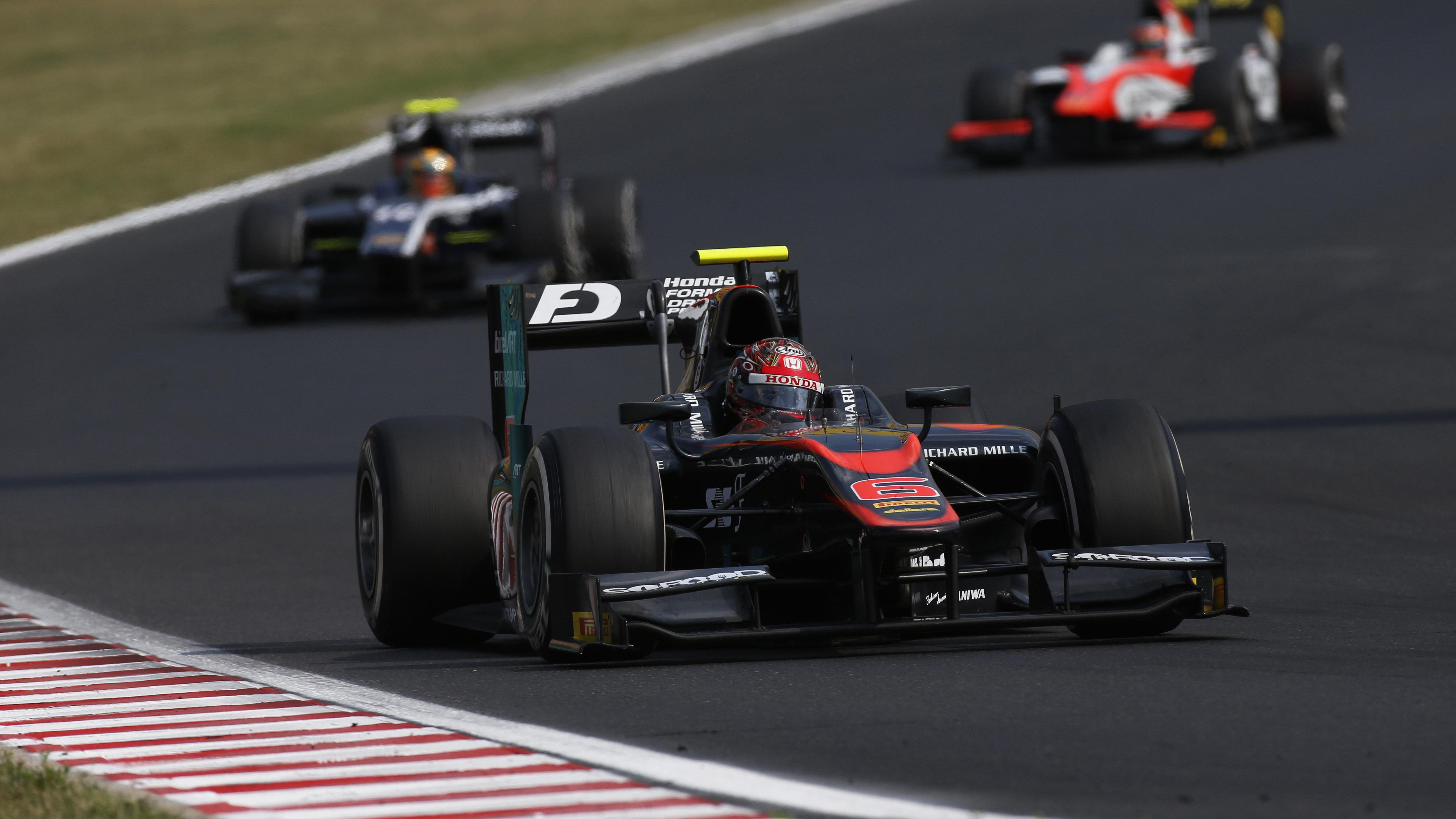 Nobuharu Matsushita domina Gara 2 in Ungheria