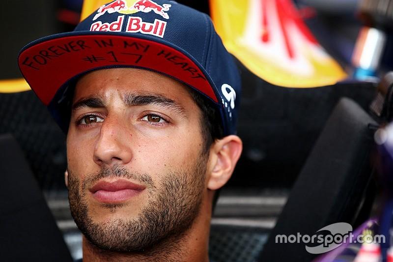 Ricciardo festeja el podio