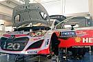 Hyundai i20 riparata: Thierry Neuville sarà in gara