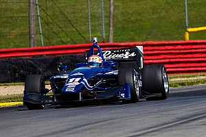 Indy Lights Race report Jones keeps eyes fixed on the prize despite Mid-Ohio disappointment