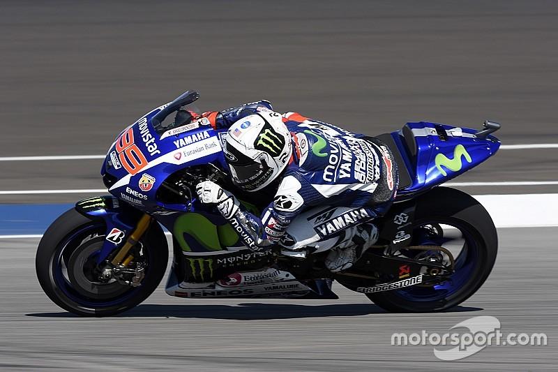 Lorenzo es el más rápido por la tarde