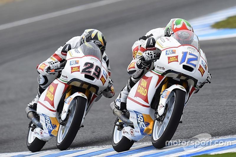 Positivo inizio del San Carlo Team Italia ad Indy