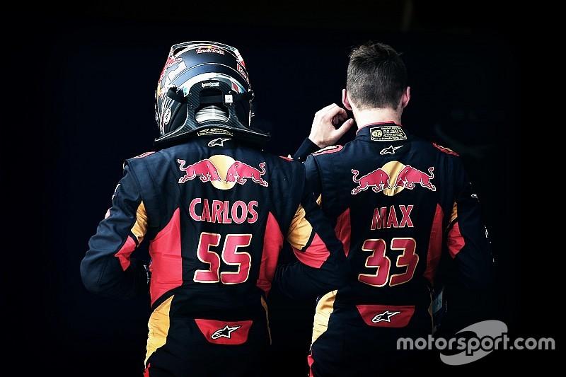 """Análisis: Verstappen y Sainz superan el """"crash test"""" de Toro Rosso"""