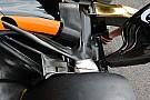 Force India: braccio della sospensione dietro carenato