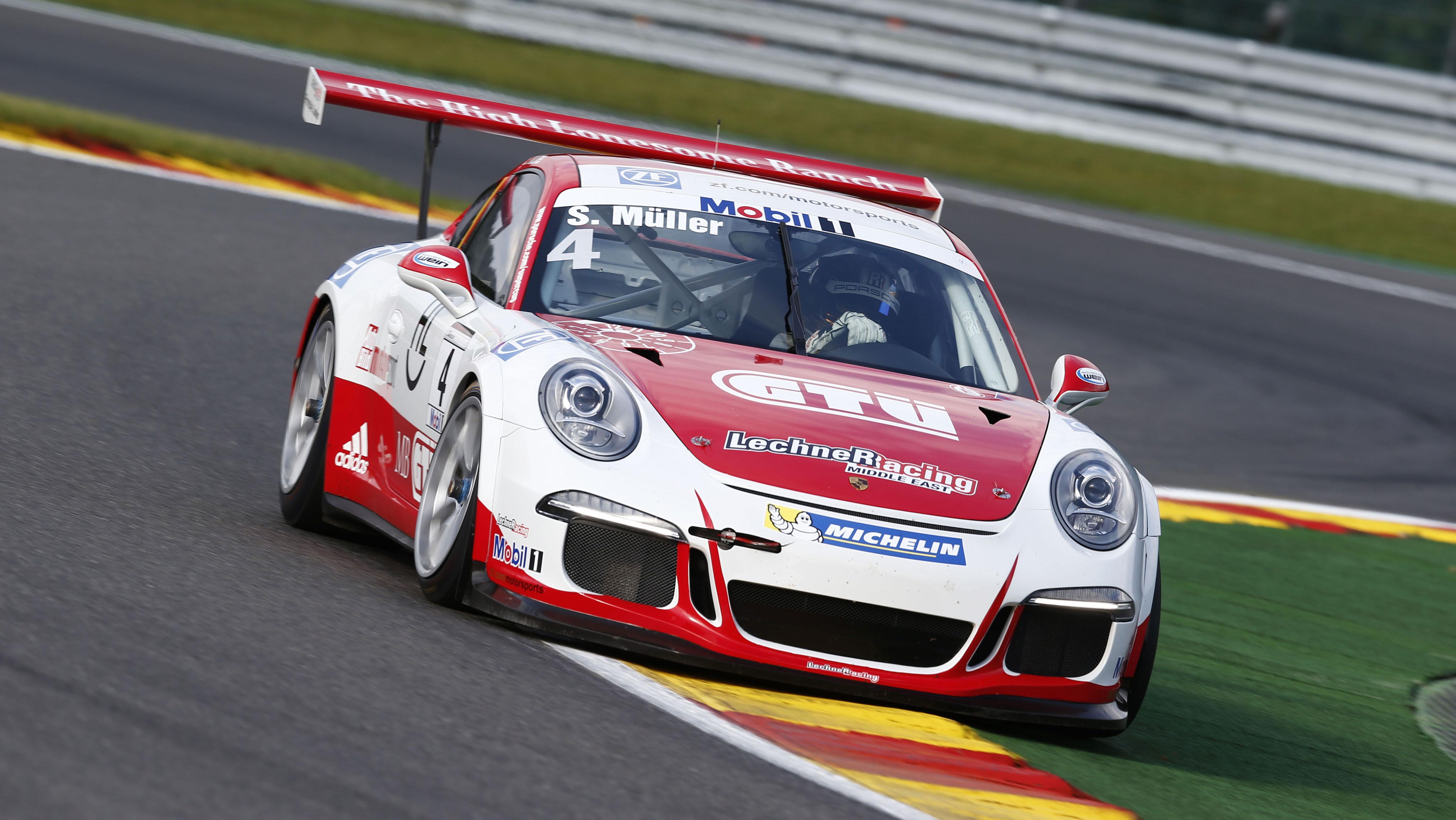 Sven Muller conquista Gara 1 a Spa-Francorchamps