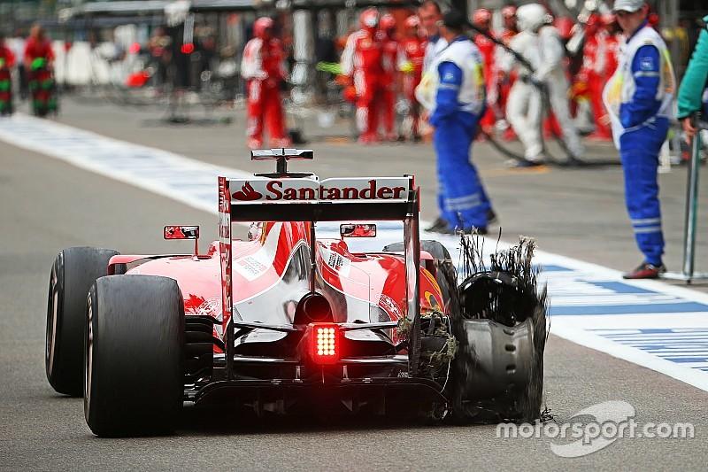 Vettel criticó fuertemente a Pirelli por el incidente