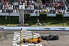 Hunter-Reay gana una accidentada carrera en Pocono