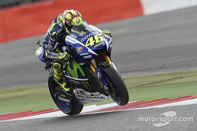 """Rossi: """"Manca qualcosina per stare con Jorge e Marc"""""""