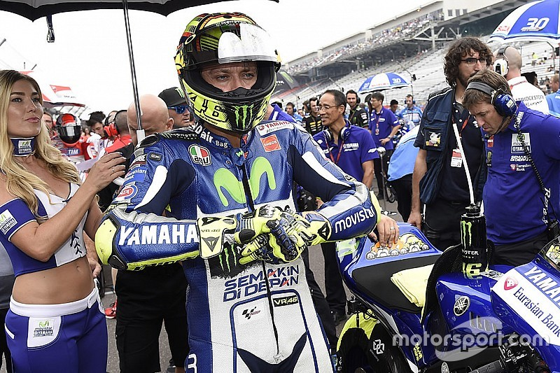 Rossi: I slowed down too much after Marquez crashed