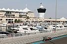 Le GP d'Abu Dhabi 2016 en décembre?