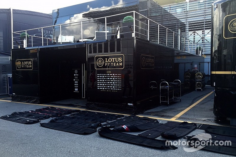 Rivals helped Lotus out of tyre blanket drama