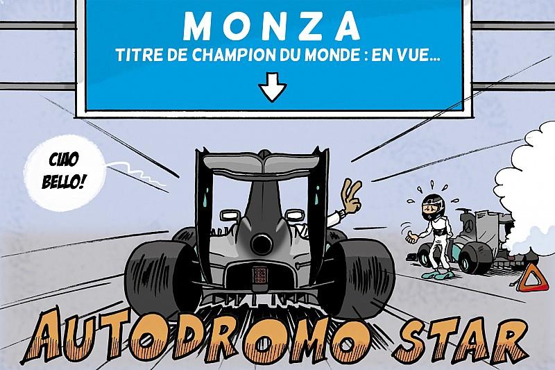 Le Grand Prix d'Italie vu par Cirebox!